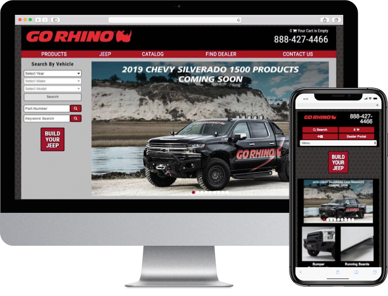 Customized Dealer Portal